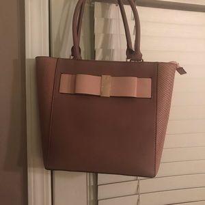 New mauve pink purse